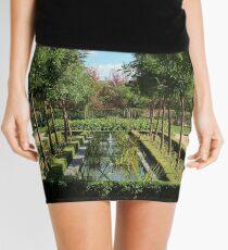 French garden. Mini Skirt