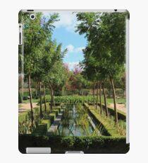 French garden. iPad Case/Skin