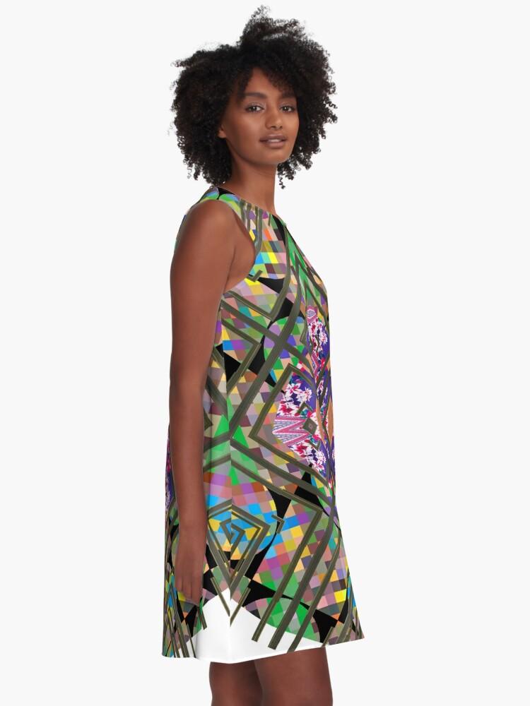 Alternate view of Specimen,   model, example, piece, figure, type, form, make A-Line Dress