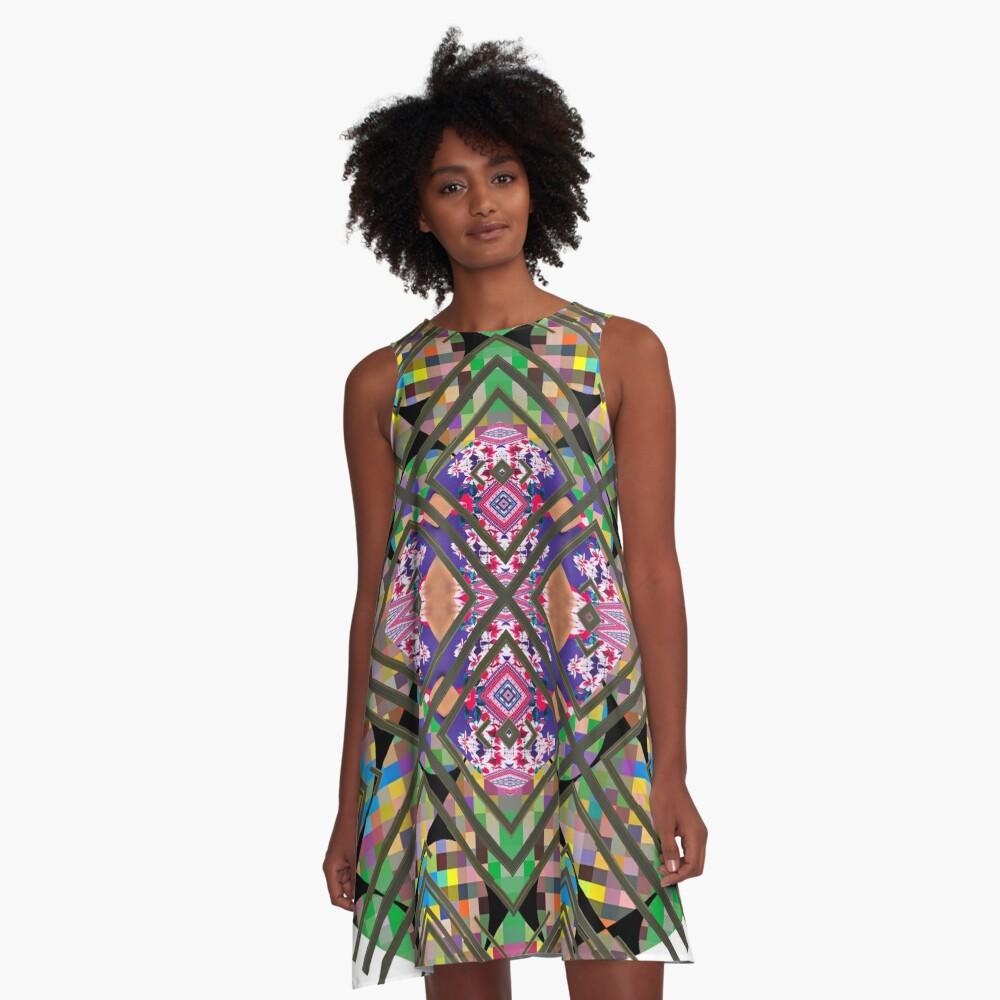 Specimen,   model, example, piece, figure, type, form, make A-Line Dress