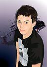Teen Boy Vector Study by Shannon McLean