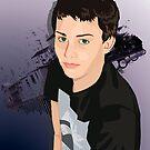 Teen Boy Vector Study by Shannon Kennedy