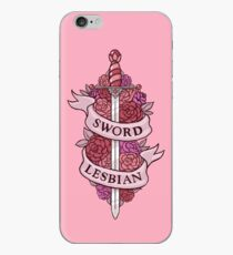 SWORD LESBIAN iPhone Case