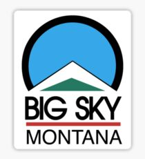 Big Sky Resort Montana Sticker