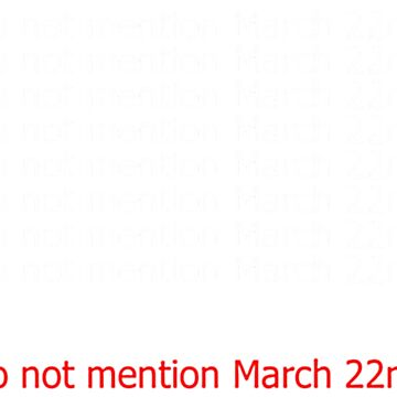 Music - do not mention March 22nd by JGleeBieGomez
