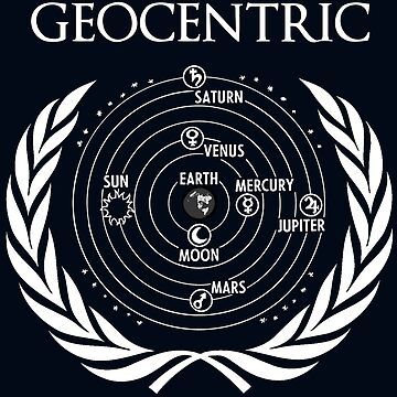 Flat Earth Designs - GEOCENTRIC by flatearth1111