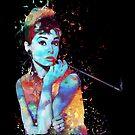 Audrey - Burst of colors by Felipe Navega