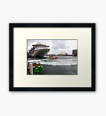 Sydney's Circular Quay Framed Print