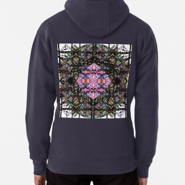 pattern, tracery, weave, template, ingenious, novel, own, individual Pullover Hoodie