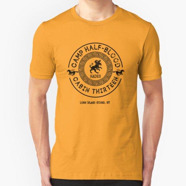 Cabin Thirteen - Hades - Percy Jackson - Camp Half-Blood Slim Fit T-Shirt