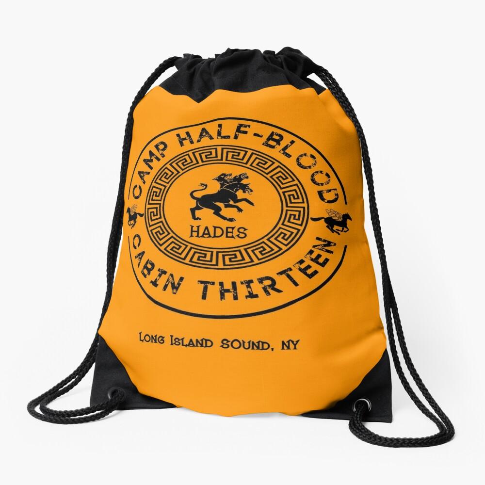 Cabin Thirteen - Hades - Percy Jackson - Camp Half-Blood Drawstring Bag