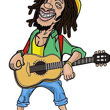 Jamaican Rastafarian Man by FaithApparrel