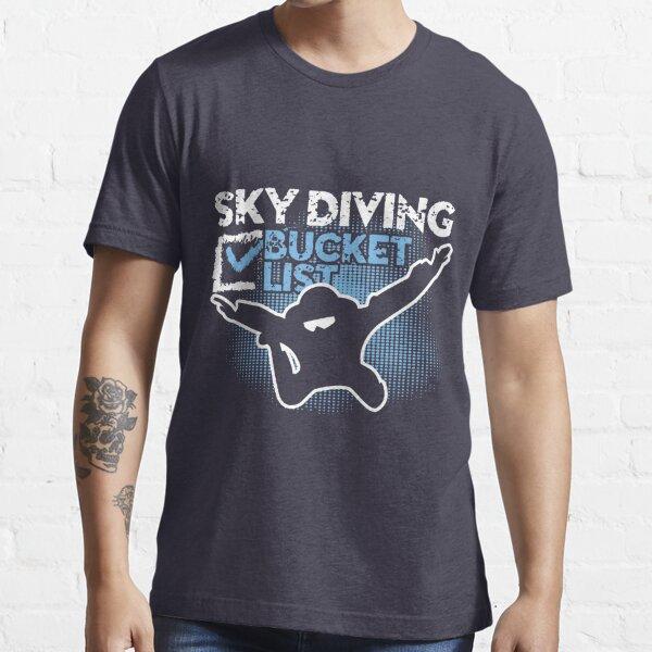 Sky Diving Bucket List Essential T-Shirt