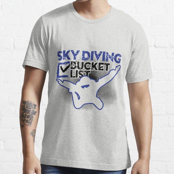 Sky Diver Bucket List Essential T-Shirt