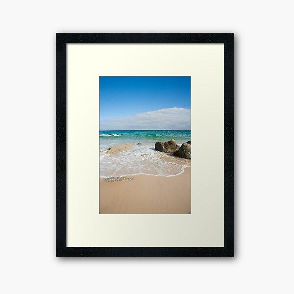 Little Waterloo Bay Framed Art Print