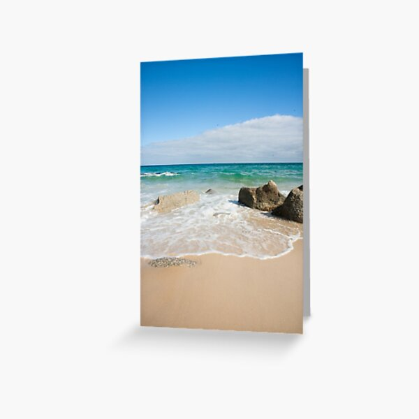 Little Waterloo Bay Greeting Card