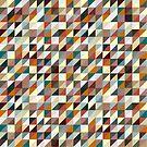 Buntes Dreieck-Muster von kennasato