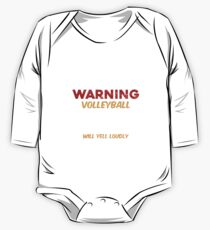 Funny Volleyball Mom Apparel One Piece - Long Sleeve