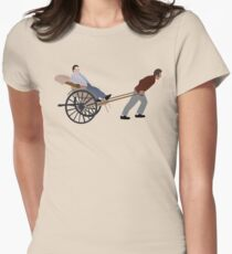 To The Idiotmobile! Women's Fitted T-Shirt