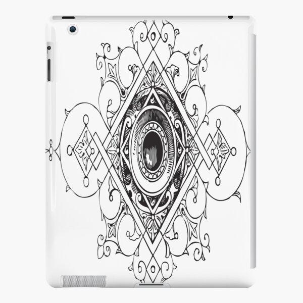 PRINTER ORNAMENT Pop Art iPad Snap Case