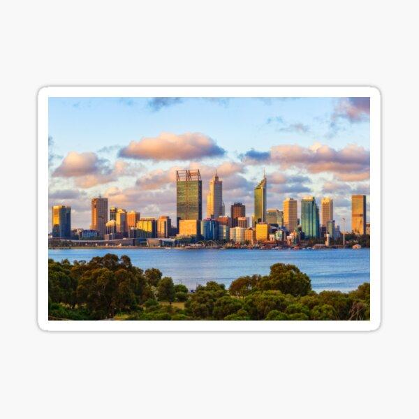 City of Gold 2, South Perth, Perth Sticker