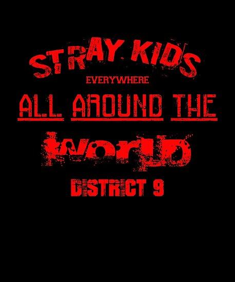 Kpop Stray Kids District 9 Lyrics By Lysavn