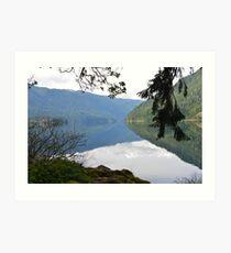 Lake Crescent, Washington Art Print