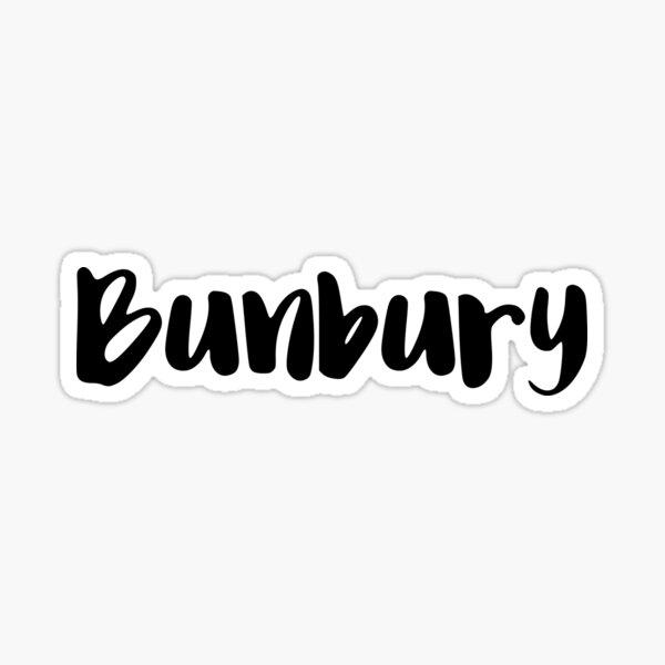 Bunbury Pegatina