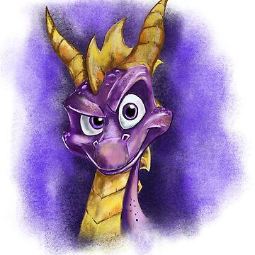 Spyro by NeilFinnArt