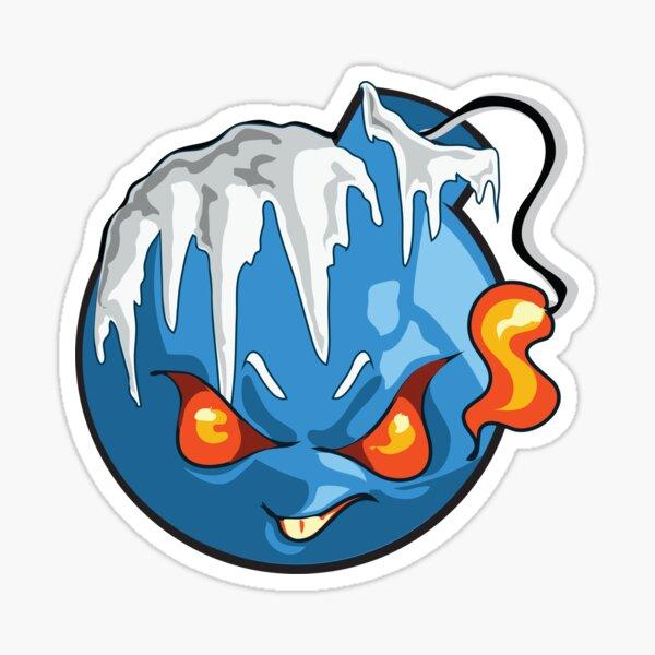 Frozen BonBomb Sticker