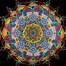 """On Awakening"" Mandala by AmandaVela"