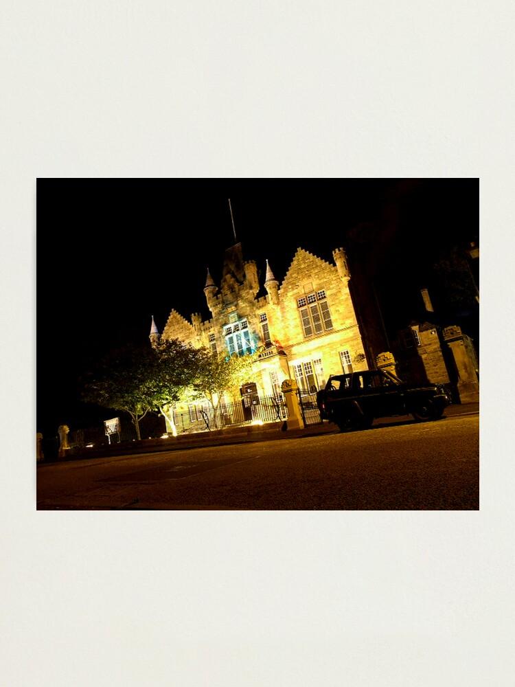Alternate view of Victoria Halls Helensburgh Photographic Print