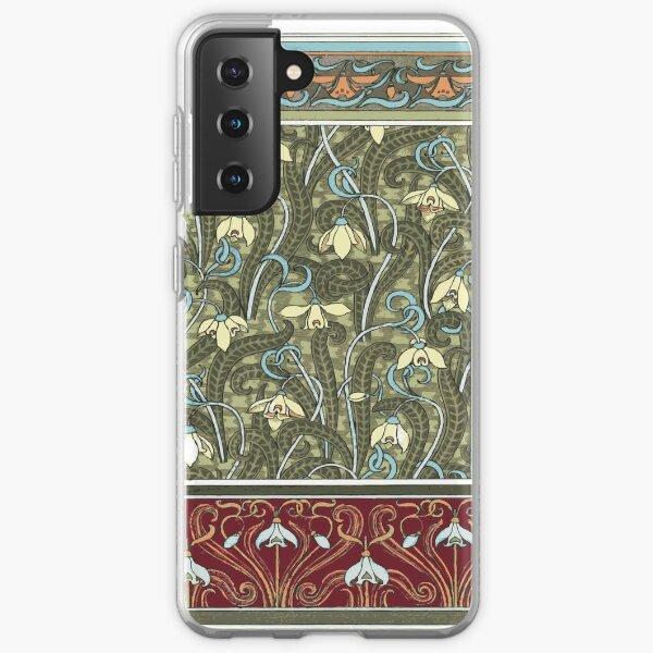 SNOWDROPS Pop Art Samsung Galaxy Soft Case