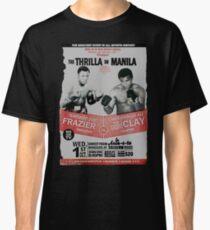 Das Thrilla in Manila - FRAZIER GEGEN ALI Classic T-Shirt