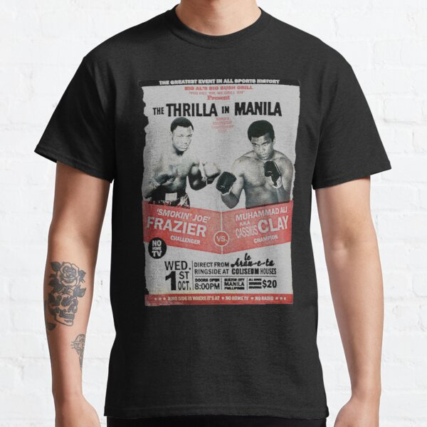 The Thrilla en Manila - FRAZIER VS ALI Camiseta clásica