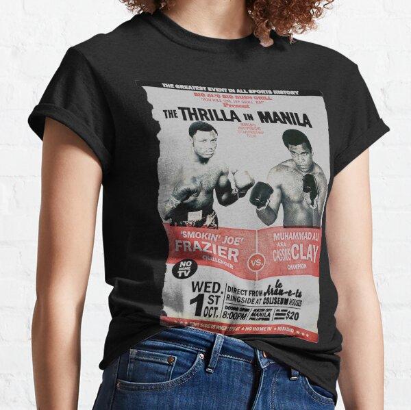 The Thrilla en Manila - FRAZIER VS ALI Camiseta clásica