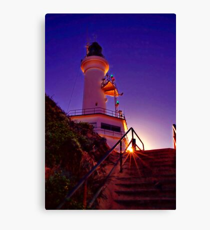 """Stairway to the Light"" Canvas Print"