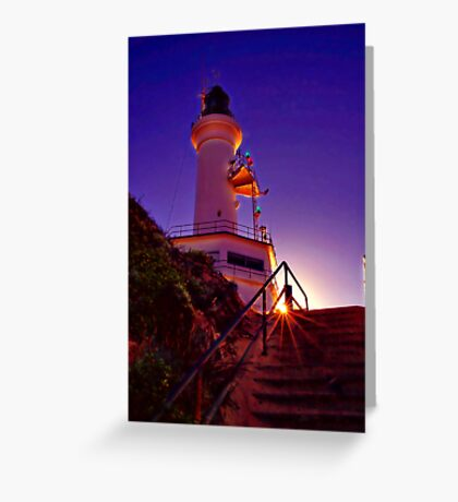 """""""Stairway to the Light"""" Greeting Card"""