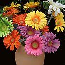 Spring Flowers by Linda Miller Gesualdo