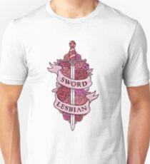 SWORD LESBIAN Unisex T-Shirt
