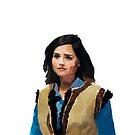 Clara in her viking vest by pinkfloralcake