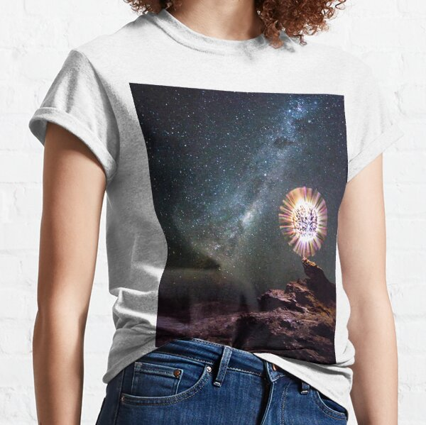 An orb and the Milky Way Classic T-Shirt