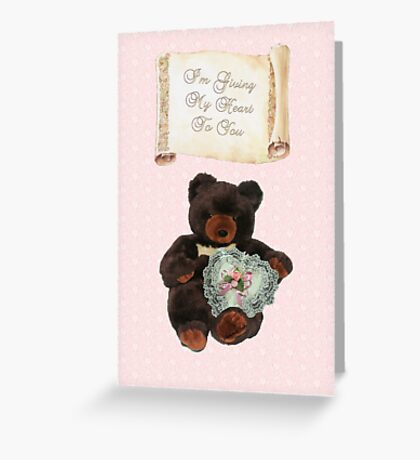 This One's for You ~ Baby Bear Greeting Card