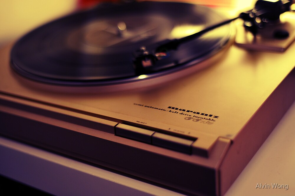 Marantz Old School Turn Table by Alvin Wong