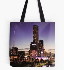 Melbourne Night Sky Tote Bag