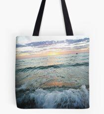 Waves Of Terror Tote Bag