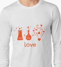 You and me and our chemistry of love. Long Sleeve T-Shirt