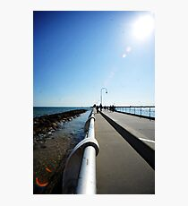 St Kilda Pier Photographic Print