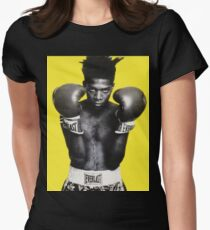 Basquiat Graphic Shirt Women's Fitted T-Shirt