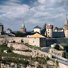Kamenets Podolskiy castle by Alexandr Zadiraka
